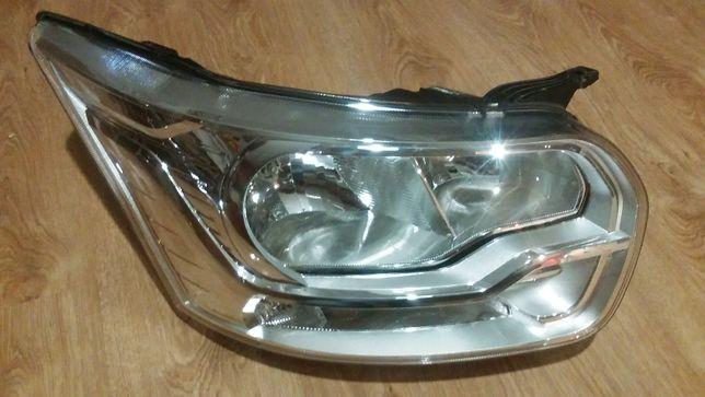 Ford Transit MK8 lampa przednia prawa oryginał kompletna reflektor