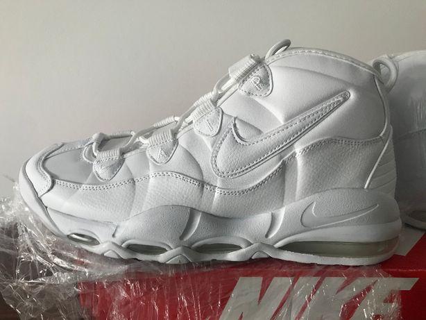 buty nike uptempo '95 białe rozmiar 46EU,30cm,12us
