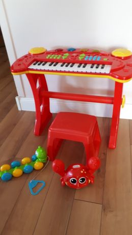 Organy, keyboard, pianino, zestaw zabawek