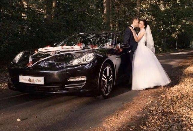 Auto do ślubu Porsche Panamera 4s, Audi Q8, Jaguar XE 300 Sport