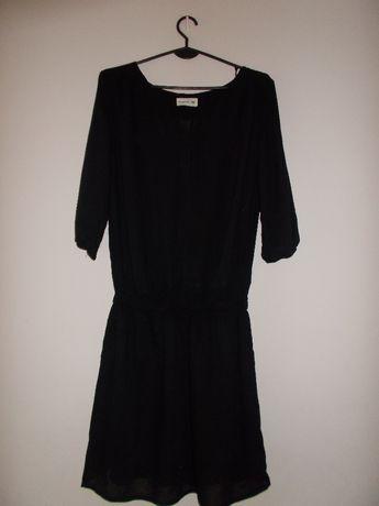 DIVERSE lekka zwiewna czarna sukienka XS 34 S damska h/m letnia boho