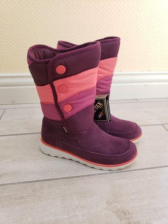 Зимние ecco скидка 25% сапожки 29 31 сапоги ботинки чоботи