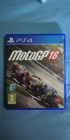 """Jogo para a PS4 """"Moto GP 18"""" (portes grátis)"""