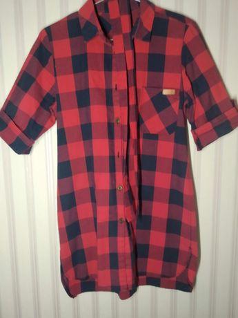 Рубашка удлиненная 500 рублей