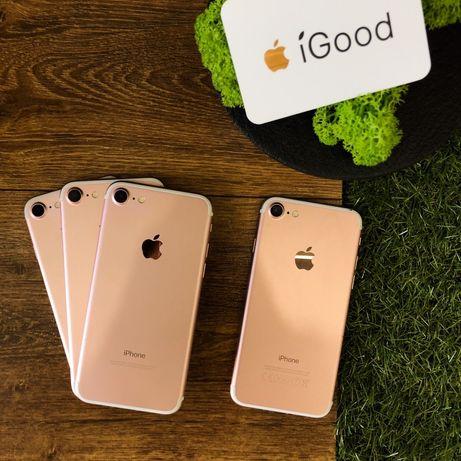 iPhone 7 32gb Black/Rose/Gold магазин iGood айфон 7