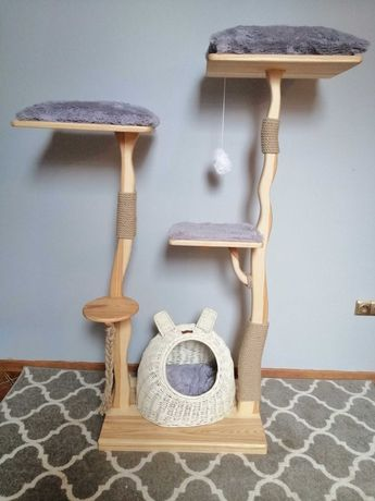 Unikatowe drzewka/ drapaki dla kota