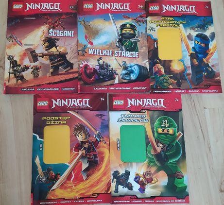 Komiksy Lego Ninjago książki x 5 sztuk