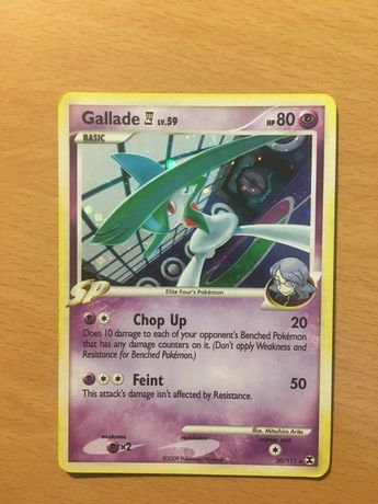 Carta Pokémon TCG Gallade Lv59 Holo