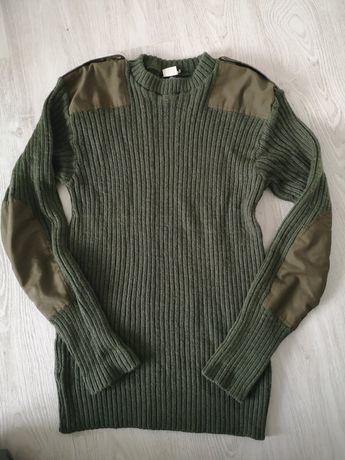 Sweter armii brytyskiej idealny na polowania rozm. L