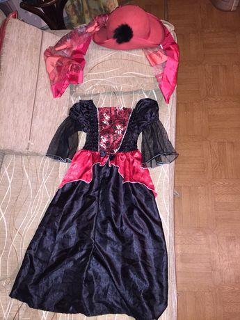 Карнавальный костюм Ведьмочка,Колдунья на Хеллоуин
