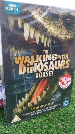 SET 3 Dvd s WALKING with DINOSSAURS original series SELADO NOVO
