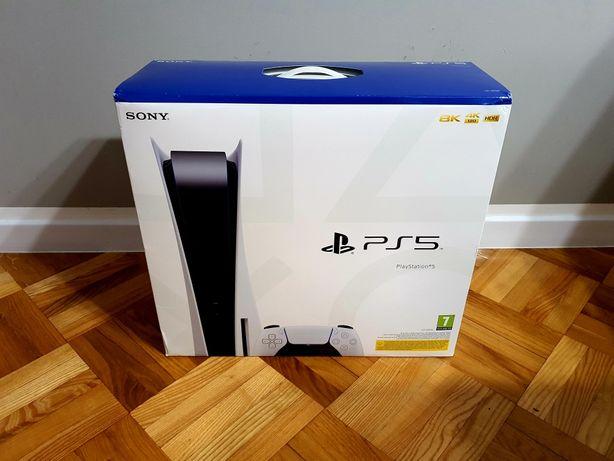 Nowa PlayStation 5 ps5 Z napędem. Dostępna na już!