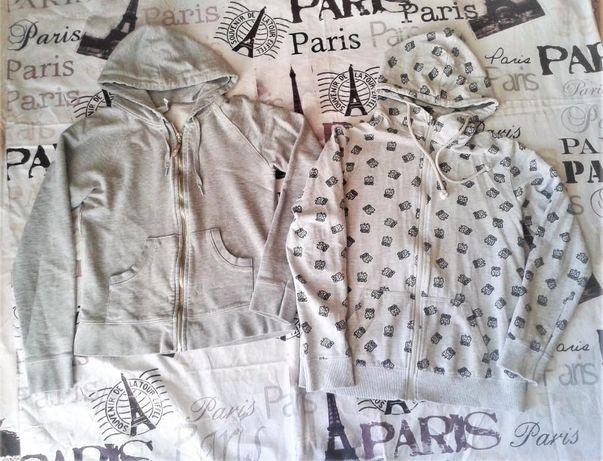 Zara szara bluza, sowy r. XS