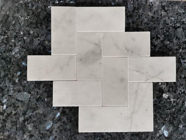 Cegiełka Marmurowa 5x10 Marmur Bianco di Carrara