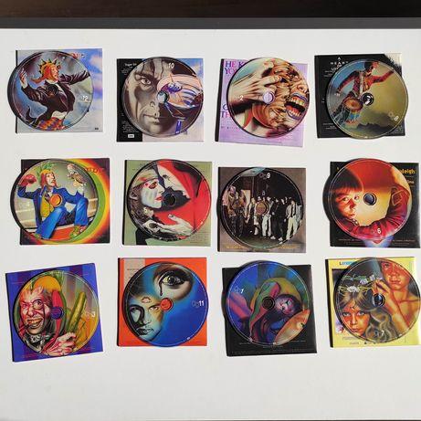 12 płyt CD. Marillion CD The Singles 82-88 super box.