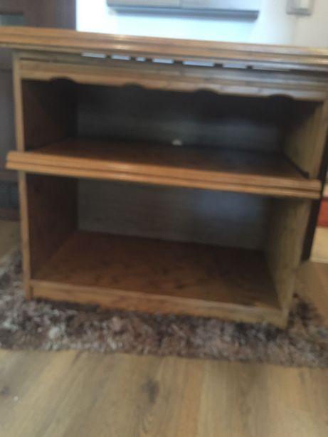 Stolik szafka pod telewizor obrotowa z półką