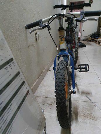 Bicicletas para adulto e criança .