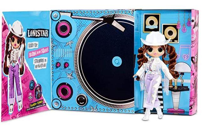 Кукла лол ремикс омг серии O.M.G. Lonestar Леди Кантри