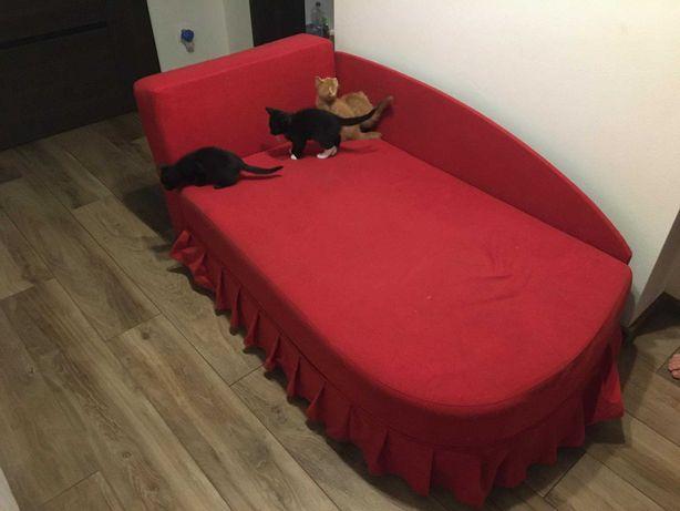 Rozkładane łóżko / tapczan dla dziewczynki + gratis
