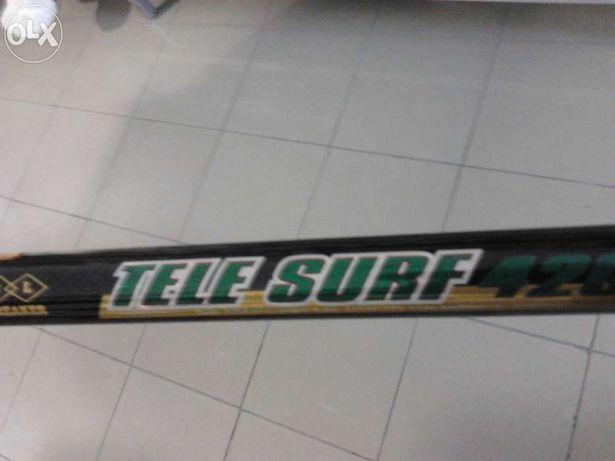 Vendo duas canas de pesca (surfcasting) novas