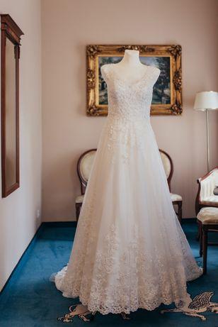 Piękna! Suknia ślubna