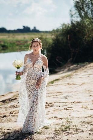 Весільна сукня від Pollardi, колекція Daria Karlozi Tremezzo Cloе