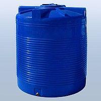 Емкость Бочка для воды ДТ на 3 куба пластиковая вертикальная 3т