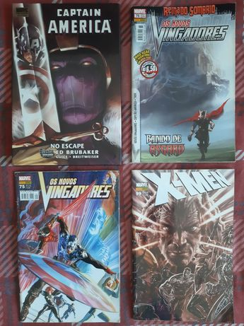 Banda Desenhada Marvel inclui Capitão América No Escape RARO