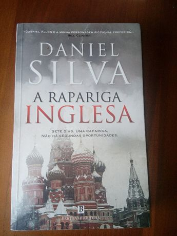 A Rapariga Inglesa - Daniel Silva - NOVO