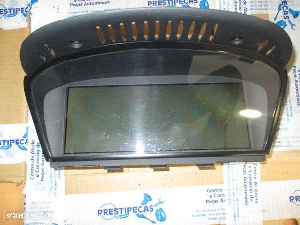 Display/Relogio 65826962425 BMW / E60 / 2005 / GPS /