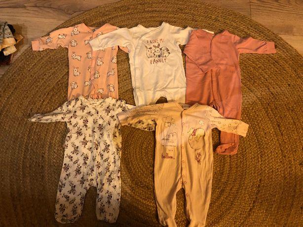 Pajace piżamki dla niemowlaka Newbie, H&M