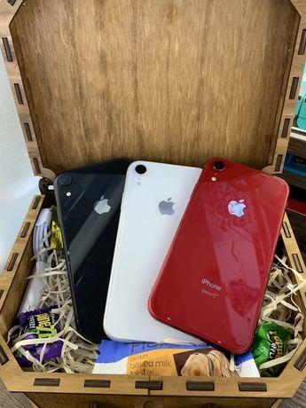 iPhone XR 64,128GB White Red Black Neverlock Обмен магазин гарантия