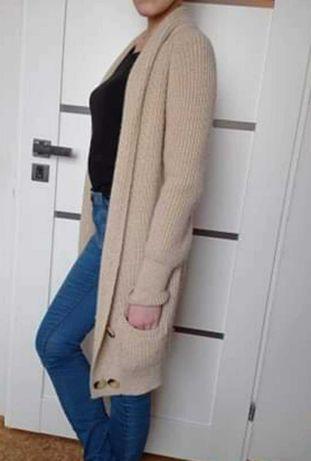Sweter oversize ciepły, gruby Pimkie S 36