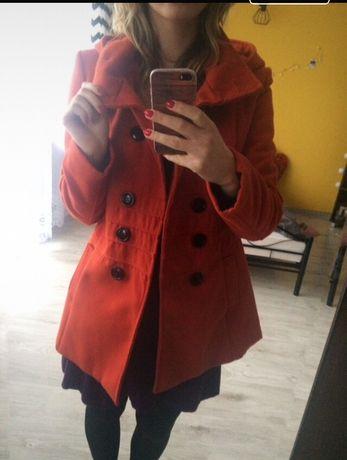 Pomarańczowy płaszczyk