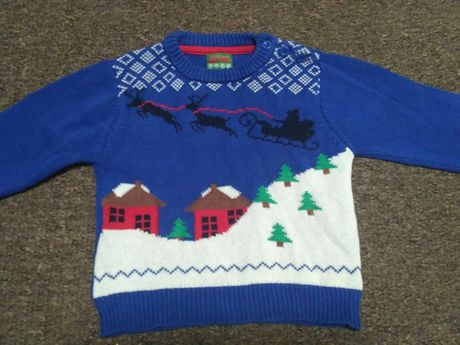 Свитер пуловер на мальчика 12-18 мес.