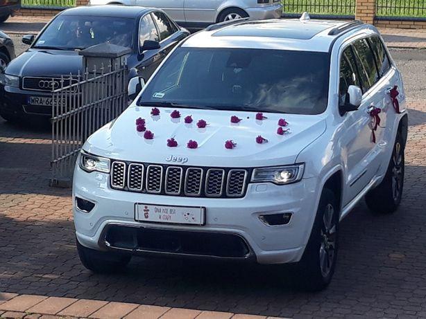 Auto do ślubu - piekny bialy Jeep 400zl!!