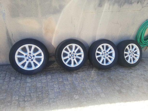 Jantes BMW E46 com pneu