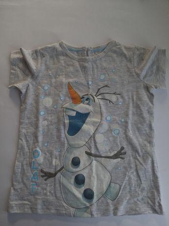 Футболка Disney Frozen Olaf для девочки 5-6 лет