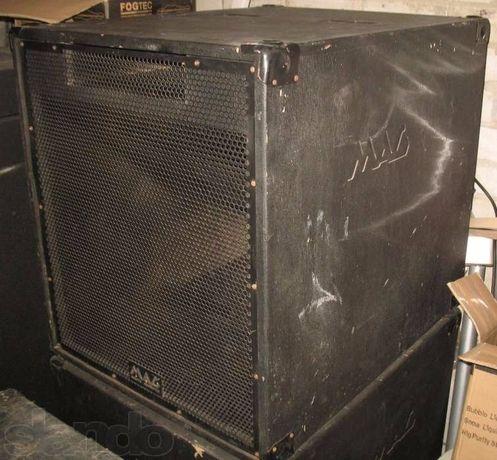 Продам колонки сабы MAG MD881BH SUB80. Park Audio, Dynacord JBL PRX