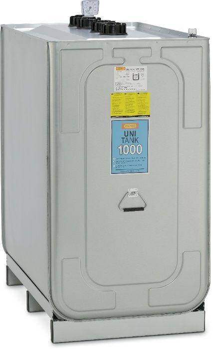 Zbiornik do paliwa dwupłaszczowy - profesjonalny z papierami 1000l Leszno - image 1