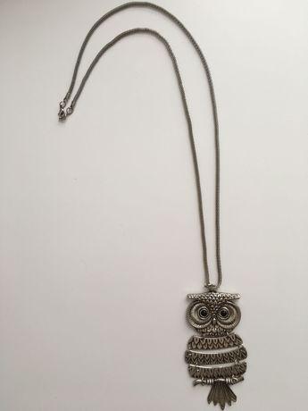 Naszyjnik biżuteria sowa