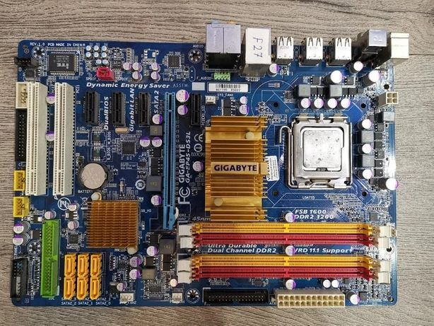 ТОП Gigabyte EP45-DS3L s775 P45, FSB 1600 под XEON e5450/x5460 5 PCI-E