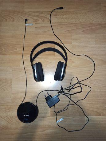 Brzprzewodowe słuchawki nauszne Philips SHC5100/10