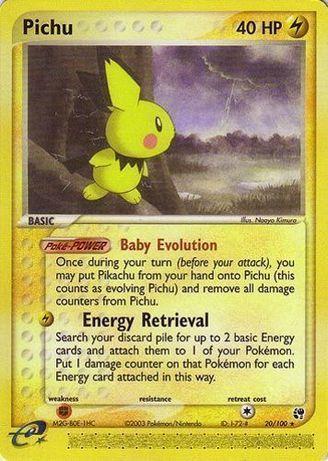 Pokemon Card - Pichu 40 HP