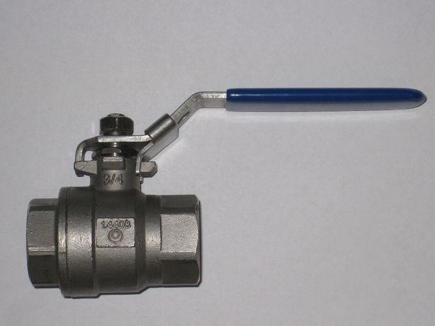 """Кран шаровый DN20 PN85 (3/4""""), сталь 1.4408"""