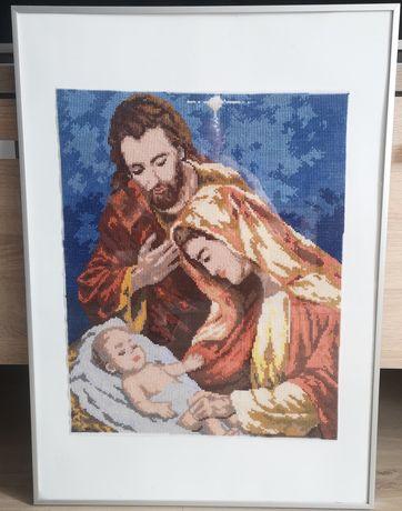 Piękny Obraz religijny z Maryją wymiar 51x71