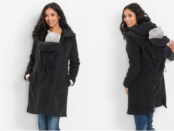 nowy płaszcz kurtka ciążowa 40