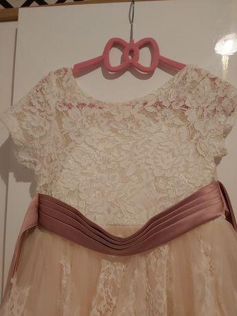 Piekna sukienka dla dziewczynki
