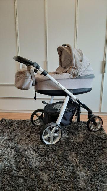 Espiro,Next,wózek głęboki, spacerowy stylish beige