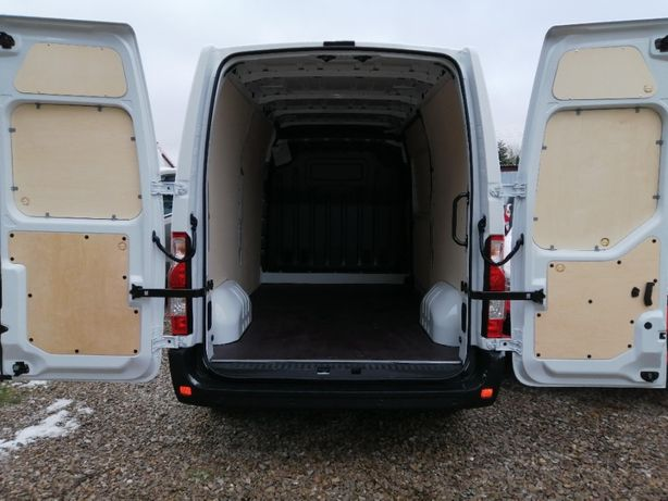 Renault Master Opel Movano L2H2 Zabudowa paki busa ze sklejki